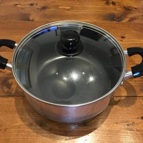 我が家の調理道具1両手鍋