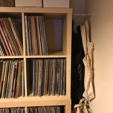 大量レコード収納6