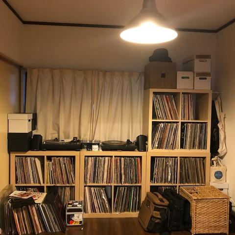 大量レコード収納7