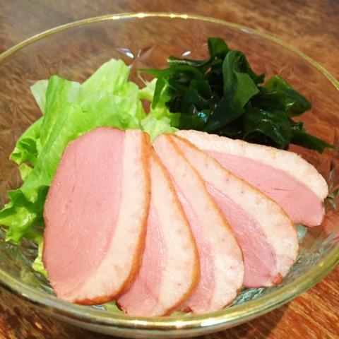 合鴨ロースサラダ
