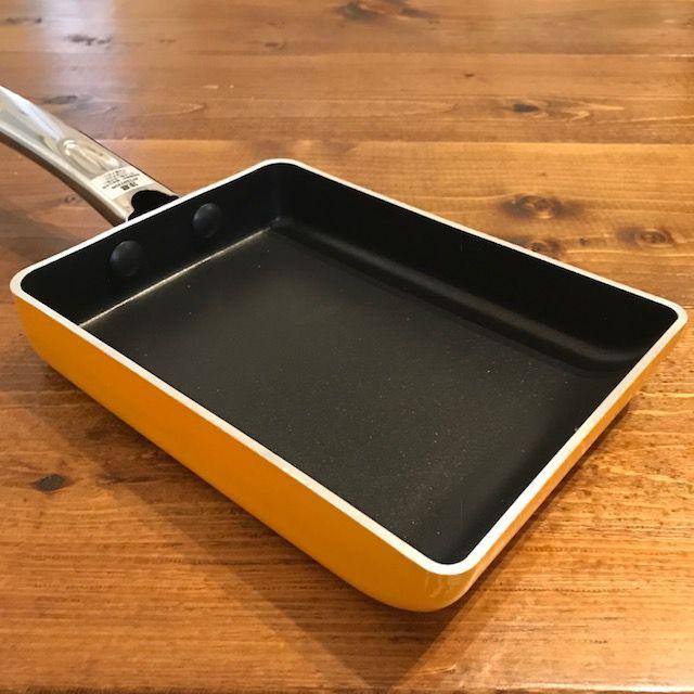 フライパン 蓋 卵焼き