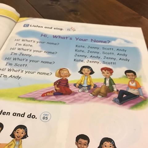 子ども向け英語教材レッツゴー耳に残る曲