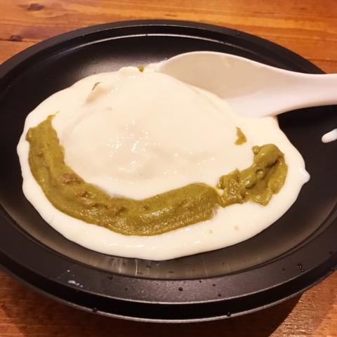 豆乳たっぷりグリーンカレー豆腐鍋2
