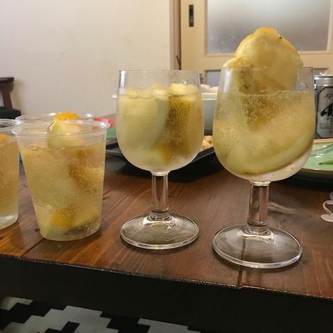 国産レモン大量消費レモンサワーパーティー