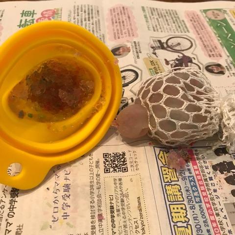 メッシュスクイシーボール水風船水で大きくなるビーズで手作り