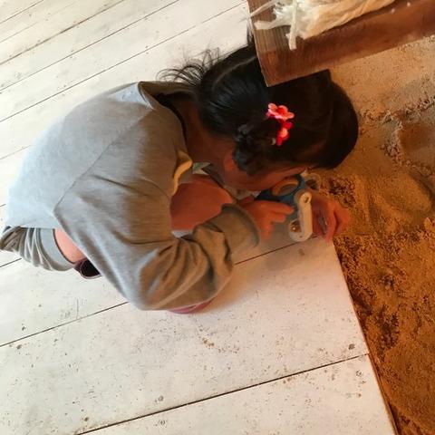 渋谷ボーホード砂の床
