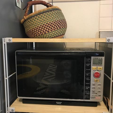 炊飯器をしまったらスッキリ