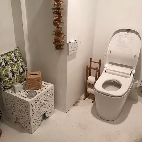 渋谷ボーホードトイレ