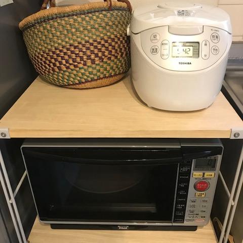 炊飯器が大きくて邪魔に思える