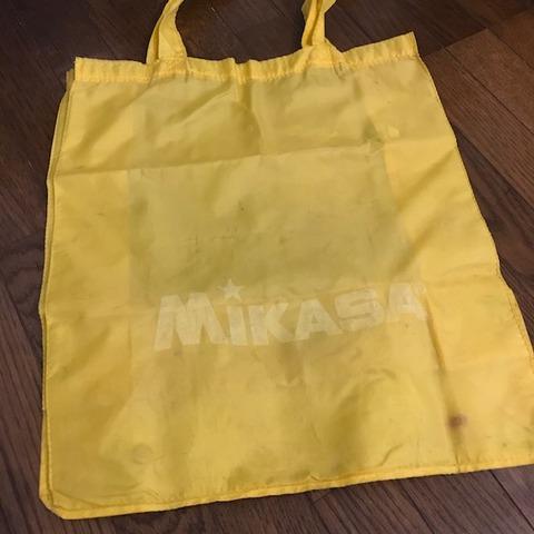 ミカサレジャーバック黄色