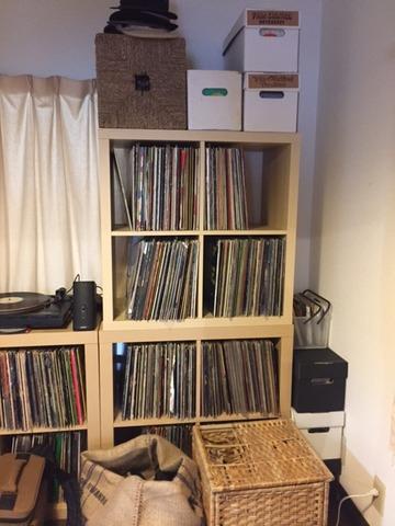 大量レコード収納4