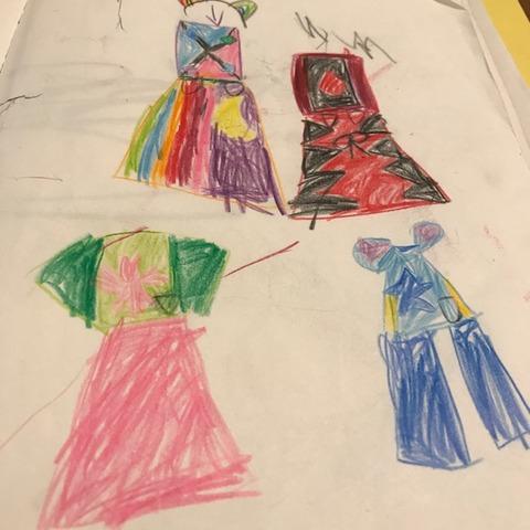子どものデザイン画3