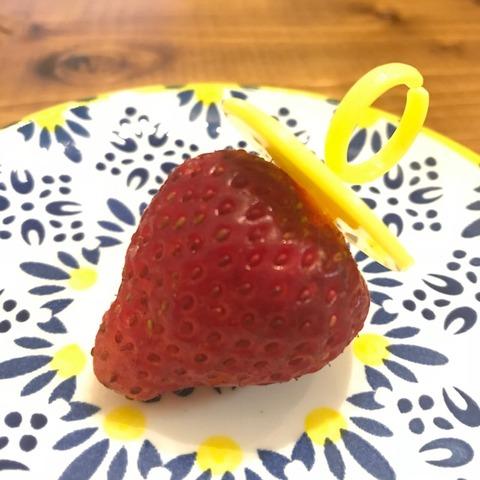 イチゴの指輪完成