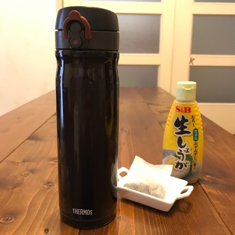 生姜紅茶材料