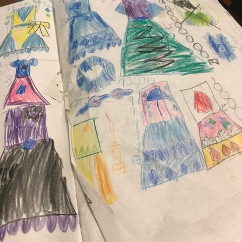 子どものデザイン画