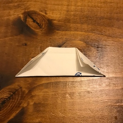 割りばし袋で箸置きの作り方5
