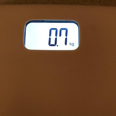 体重計が故障誤差あり