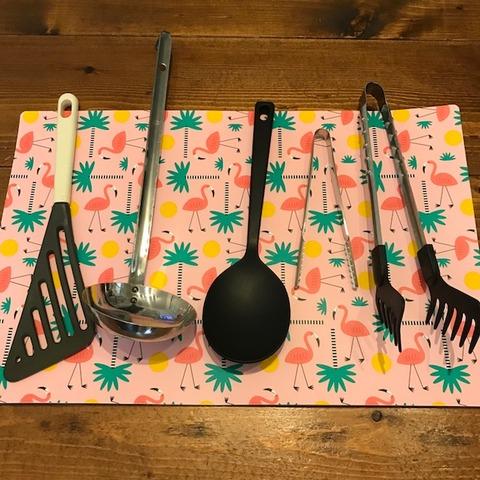 我が家の調理道具10フライ返し他