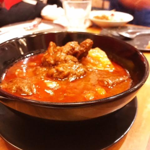 タイ料理マッサマンカレー