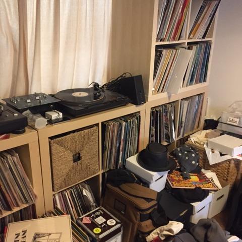 大量レコード収納2