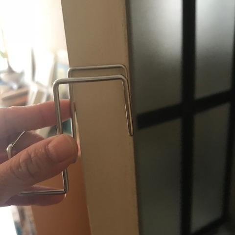 無印良品扉につけるフック扉の幅に要注意