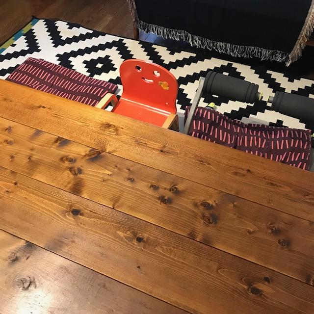 家族3人食事をするときの座り位置