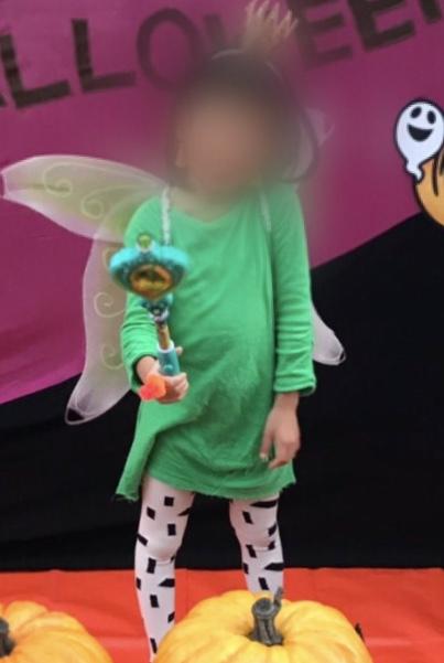 ハロウィンホームパーティー女の子7歳の仮装は妖精