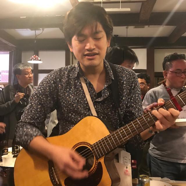 オジロックフェスティバル2018流しの四元さん