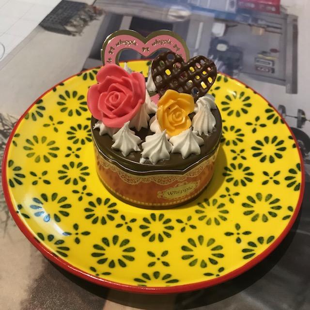 ホイップるドリーミーパティシエデラックス初めて作ったケーキ