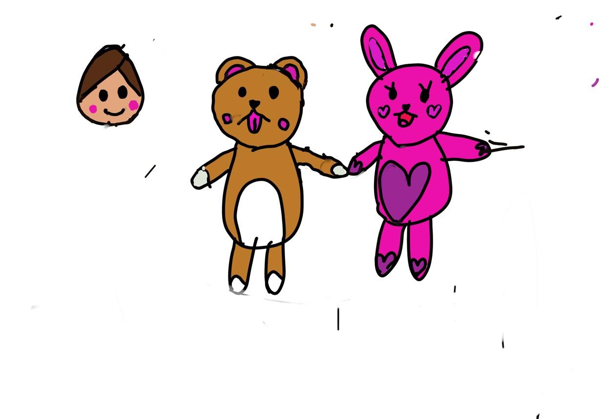 オジロックフェスティバル2018娘7歳初めてiPadでお絵描き