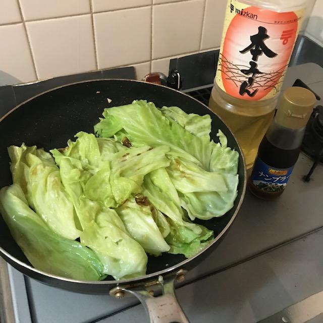 絶品キャベツのナンプラー炒め作り方5