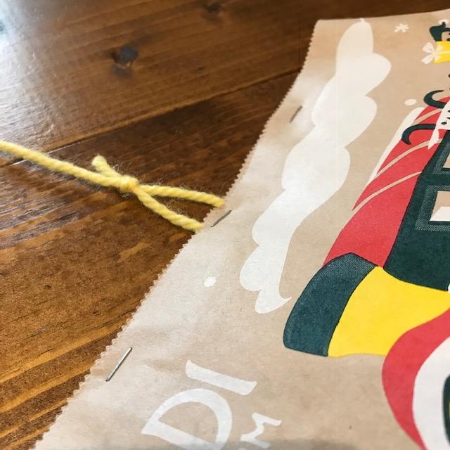 糸引きプレゼントくじの作り方2
