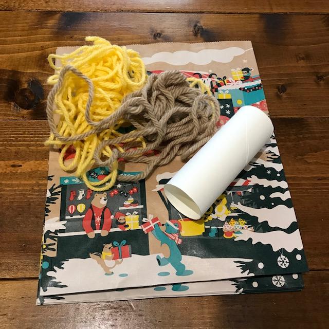 糸引きプレゼントくじの作り方材料