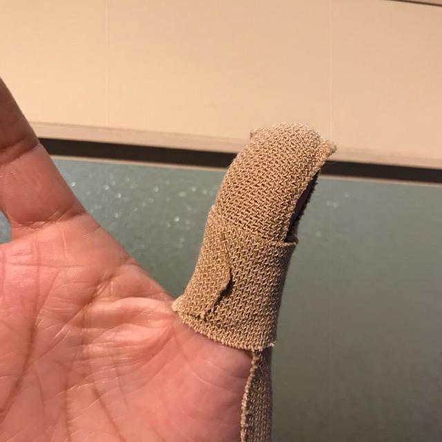 親指のケガタッチアイディーが使えない