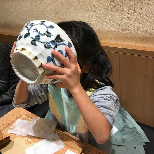 立川駅武蔵野うどんこぶし子どもも完食