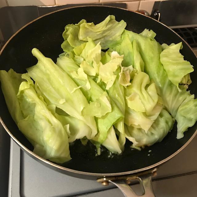 絶品キャベツのナンプラー炒め作り方4