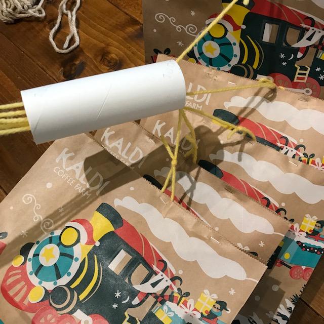 糸引きプレゼントくじの作り方3
