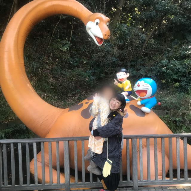 藤子F不二雄ミュージアム記念撮影を同じポーズで4