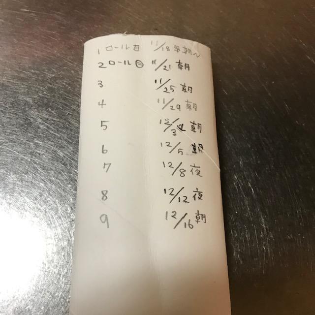 トイレットペーパー1年分の量は検証結果メモ