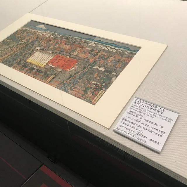 両国江戸東京博物館初売りの模様