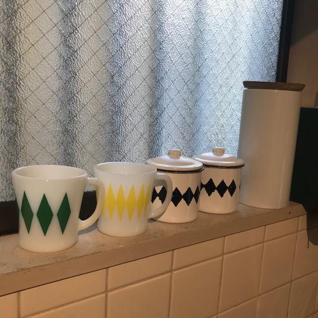 高円寺でファイヤーキングのマグカップを購入