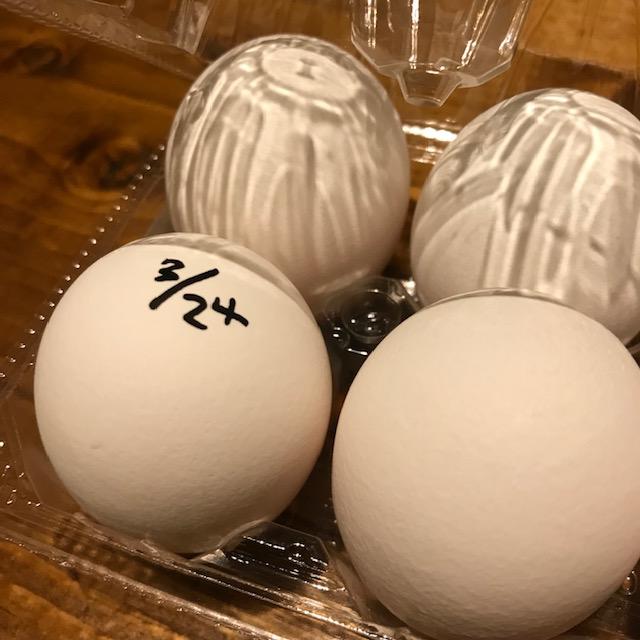 卵の賞味期限切れを防ぐ方法直接書く