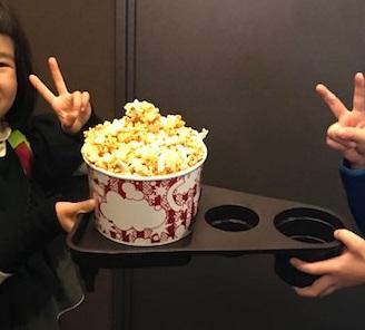 映画館デートにポップコーン必須