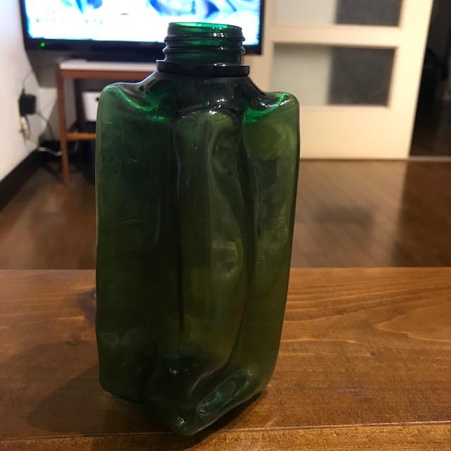 無印良品の詰め替えボトル変形してしまい処分