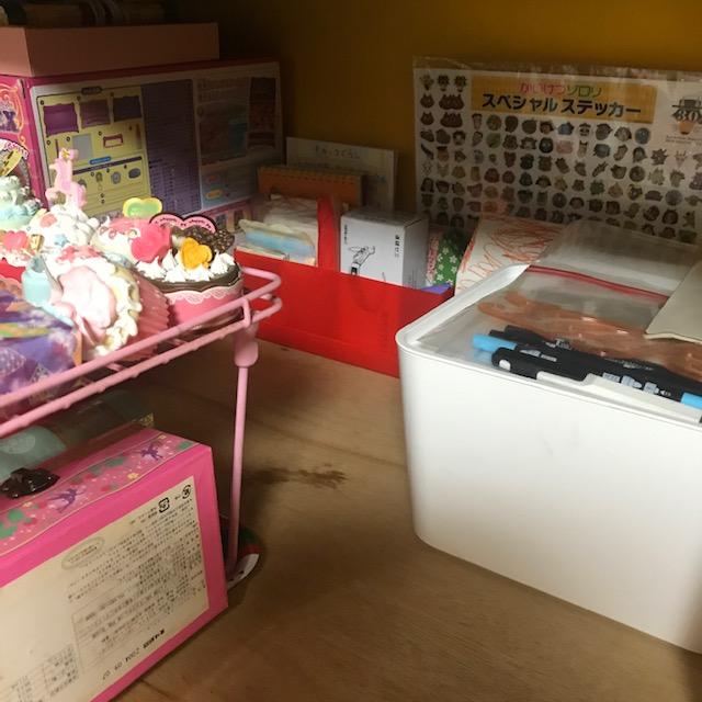 子どもの押し入れ部屋取り出しやすい収納