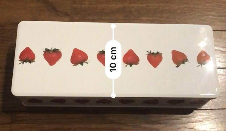 彩果の宝石苺缶のサイズ詳細は