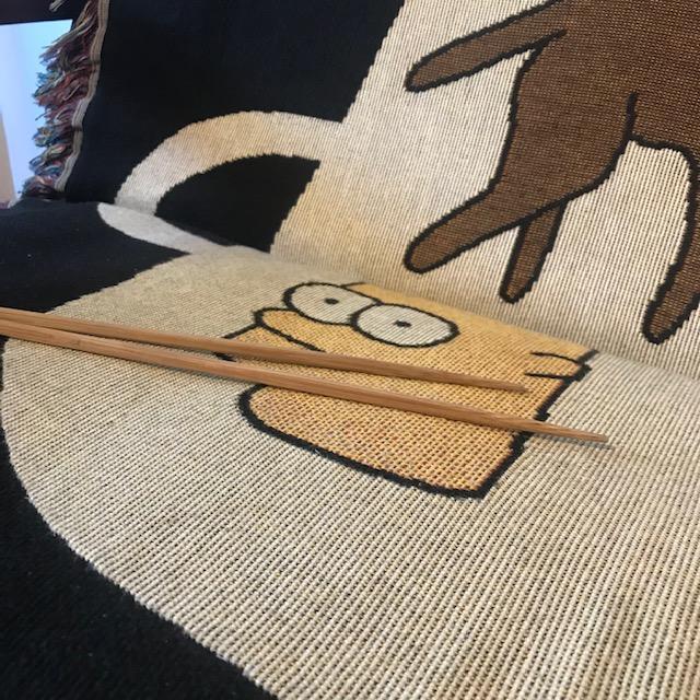 ソファーにかけた布がずれる問題対処法1