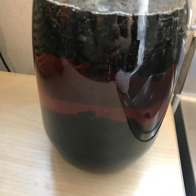 コーヒー焼酎を家で作ってみた1日後