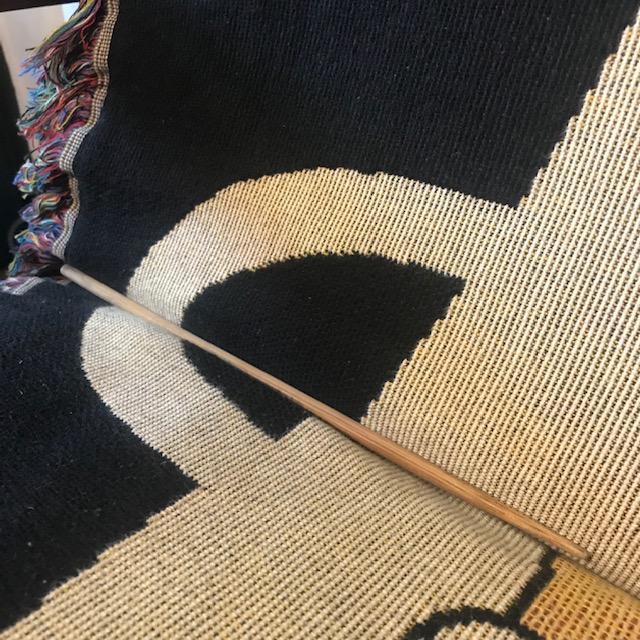 ソファーにかけた布がずれる問題対処法2