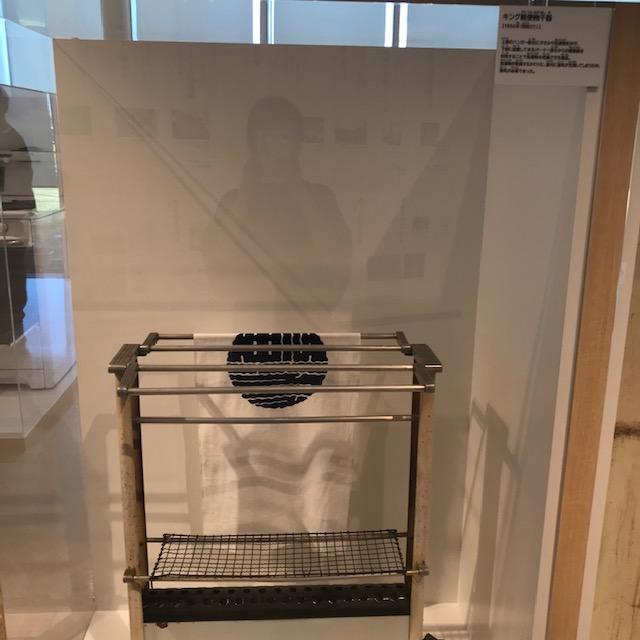 ガスの科学館がすてなーに昔の洗濯物乾燥機
